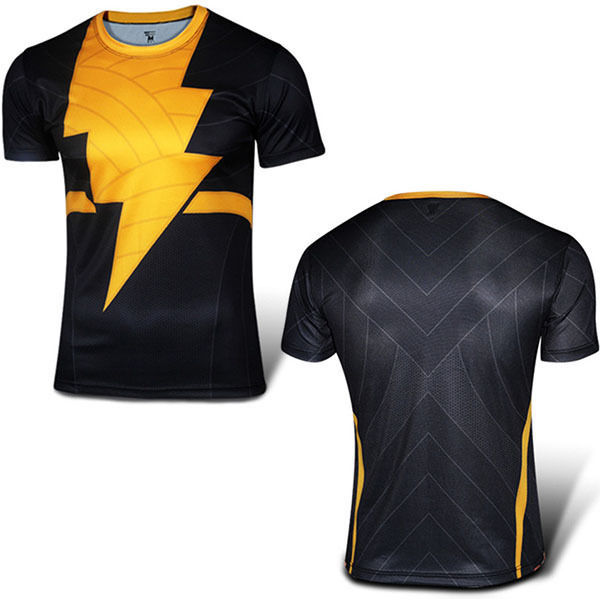 6efecf24 The latest Men Sport T-Shirt Compression Base Layers Under Tops T Shirts  Skins Sports Bodybuilding Fitness Running Slim Fit Tees