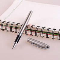 HERO 1099 Classic Steel Fountain Pen With 0 38mm Extra Fine Nib Metal Inks For Office