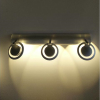 Modern LED Wall Lamp For Bathroom Bedroom 3W All Sconce White Indoor Lighting Lamp AC100 265V