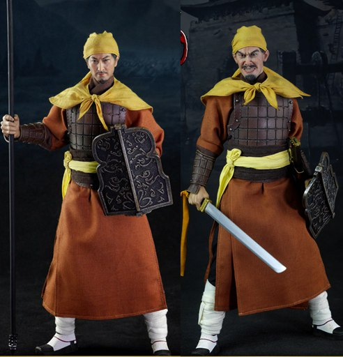 1 6 scale ancient weapon sword model with stand collection toy for 12 inches action figure 1/6 scale figure doll Ancient China Three Kingdoms Yellow Turban Rebellion.12 action figures doll.Collectible figure model toy
