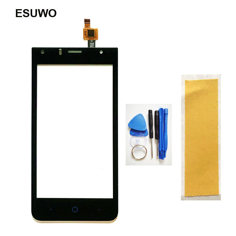 ESUWO Touch Screen For ZTE Blade A210 Touchscreen Digitizer Front Panel Lens Glass Replacement +Tools