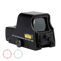 Шип матовый черный тактический мм 1X22 мм голографический рефлекс красный зеленый точка зрения открытый охотничий прицел Регулируемая яркос...
