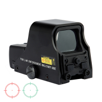 Spike Matt Black Tactical 1X22mm Holographic Reflex Red Green Dot Sight Outdoor Hunting Sight Scope Brightness Adjustable.