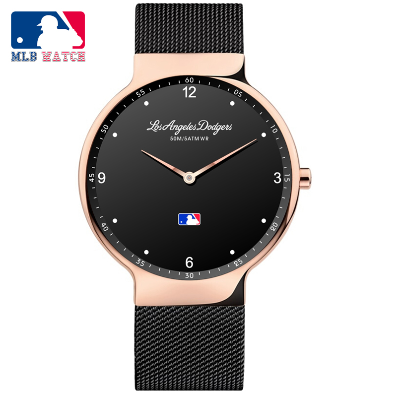 MLB 2018 New arrival watch simple quartz lover's watch with stainless steel strap waterproof watch men for men and women SD020 new arrival iron man vintage quartz pocket watch with necklace chain pendant men women clock gift