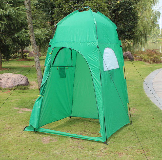 Portable Shelter Camping Shower Tent Changing Toilet Room Outdoor ...