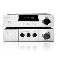 Cayin iHA 6 iDAP6 Audio Decoder IHA6 Full Balanced Desk earphone Amplifier HIFI Tube AMPs Aluminum Enclosure