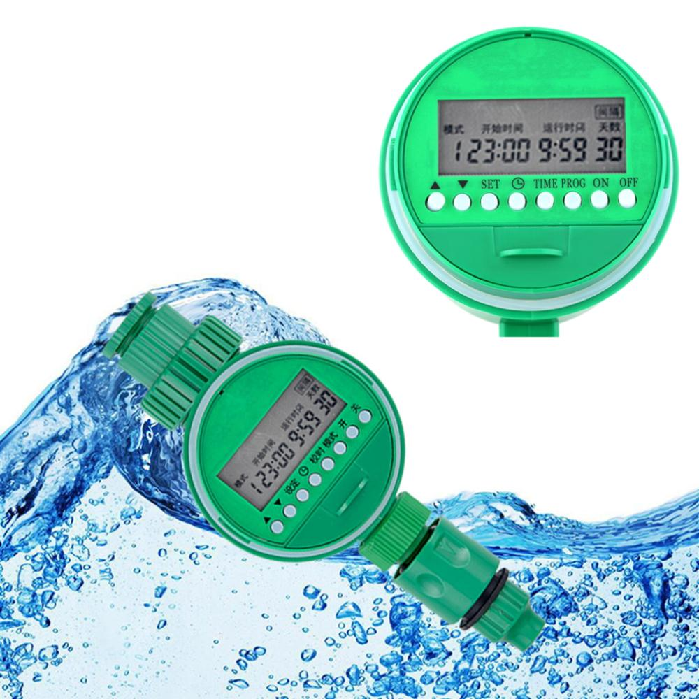 Hot Automatic Waterproof Electronic LCD Water Timer Garden Digital Irrigation Controller title=