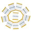 Resistencia Resistor Kit Práctico Portable 10values * 10 unids = 100 unids para Componentes Electrónicos Paquete