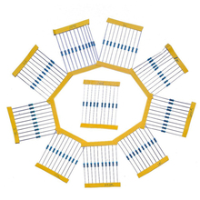 Resistor Kit Handy Resistance Portable 10values*10pcs=100pcs for Electronic Components Package