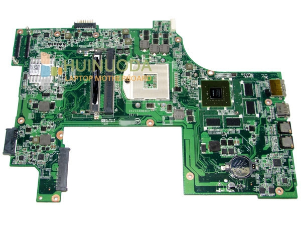 Laptop Mainboard For Dell Inspiron 17R N7110 Intel Motherboard GT525M 17.3 CN-037F3F 37F3F 037F3F DAV03AMB8E1 ddr3 cn 0md666 laptop motherboard for dell inspiron 6400 e1505 da0fm1mb6f5 rev f 945gm ddr2 mainboard mother boards
