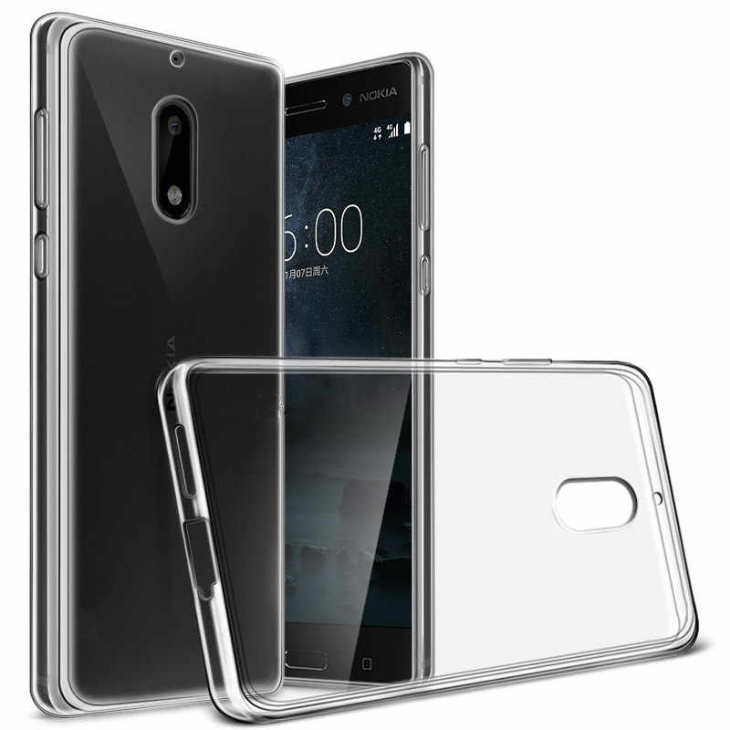 Ultra Thin Silicone Clear TPU Coque For Nokia 5 5.2 nokia5 TA-1024 TA-1053 TA-1044 Phone Cases Transparent Silicona Back Cover