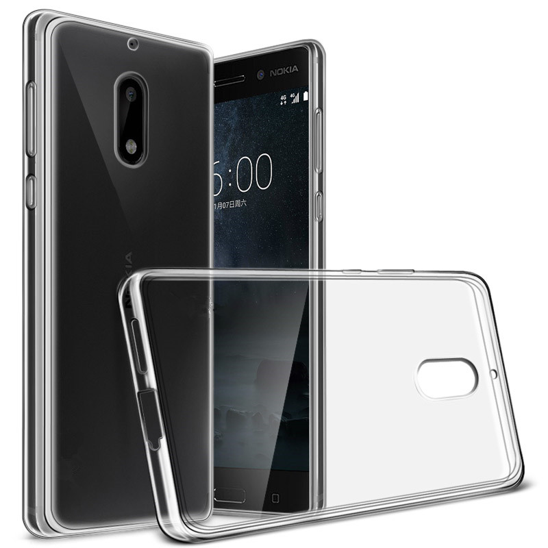 Ultra Thin Silicone Clear TPU Coque For <font><b>Nokia</b></font> 5 5.2 nokia5 TA-1024 TA-<font><b>1053</b></font> TA-1044 Phone Cases Transparent Silicona Back Cover image