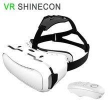"VR Shinecon 2.0 VRแว่นตา3Dสำหรับ4.7 ""~ 6.0″มาร์ทโฟนของG Oogleกระดาษแข็งหมวกกันน็อค+ไร้สายบลูทูธระยะไกล/Gamepadควบคุม"