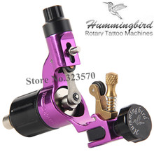 Original Hummingbird Purple Gen 2 Rotary tattoo machine swiss motor liner shader for cord