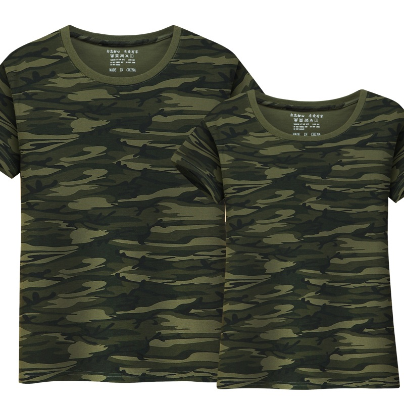 New Summer Military Camouflage Men   T  -  shirt   Casual Tactical Army Combat   T     Shirt   Men Women Short Sleeve Camo Clothing Top Quality