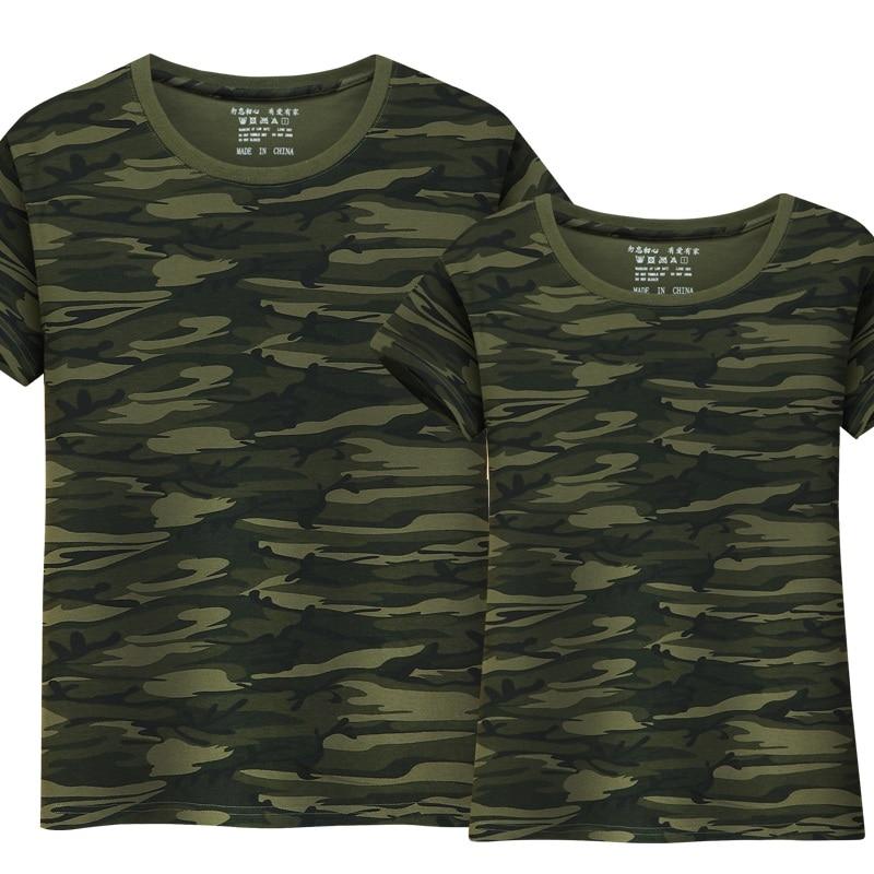 fc994d46b Cheap Nueva camiseta de camuflaje militar de verano para hombres