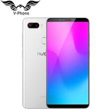 2018 новый оригинальный 6 GB 64 GB zte Нубия Z18 мини мобильный телефон 5,7 «Snapdragon 660 АНО Восьмиядерный 24MP Камера FHD Full Экран Face ID