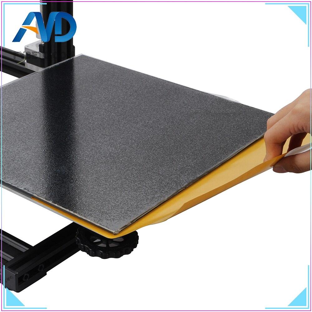 220*220mm/235*235/310*310mm Ultrabase semillero plataforma construir superficie placa de vidrio para A6 A8 cr10 Ender-3 WanHao i3 3D impresora parte