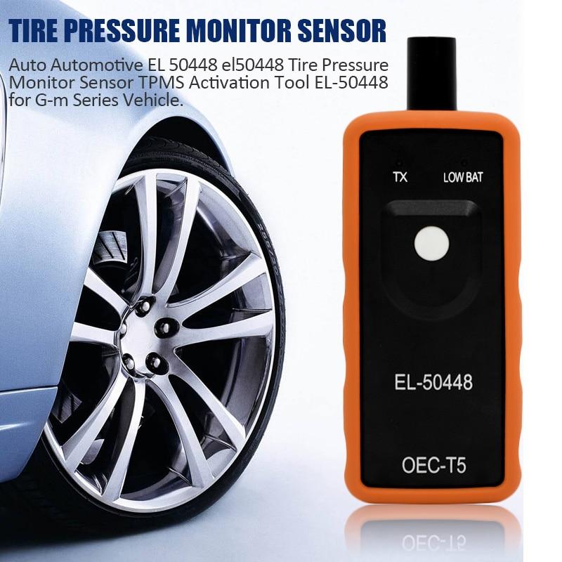 Auto Automotive EL 50448 el50448 Tire Pressure Monitor Sensor TPMS Activation Tool EL-50448 for G-m Series Vehicle