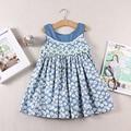 Summer Wear New Pattern Fashion Sleeveless Dress toddler girls flower dress cotton dress kids clothing dress girl