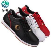 Мягкая обувь из воловьей кожи; обувь Tai Chi; обувь для боевых искусств; тайцзи; обувь для занятий боксом; гибкая обувь; три цвета