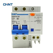 цена на CHINT Circuit Breaker DZ47LE-32 2P C16 230V 16A Leakage Protection