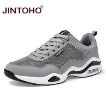 Бренд JINTOHO, мужские кроссовки, дышащая мужская обувь для тренировок, уличная спортивная обувь, спортивная обувь для мужчин