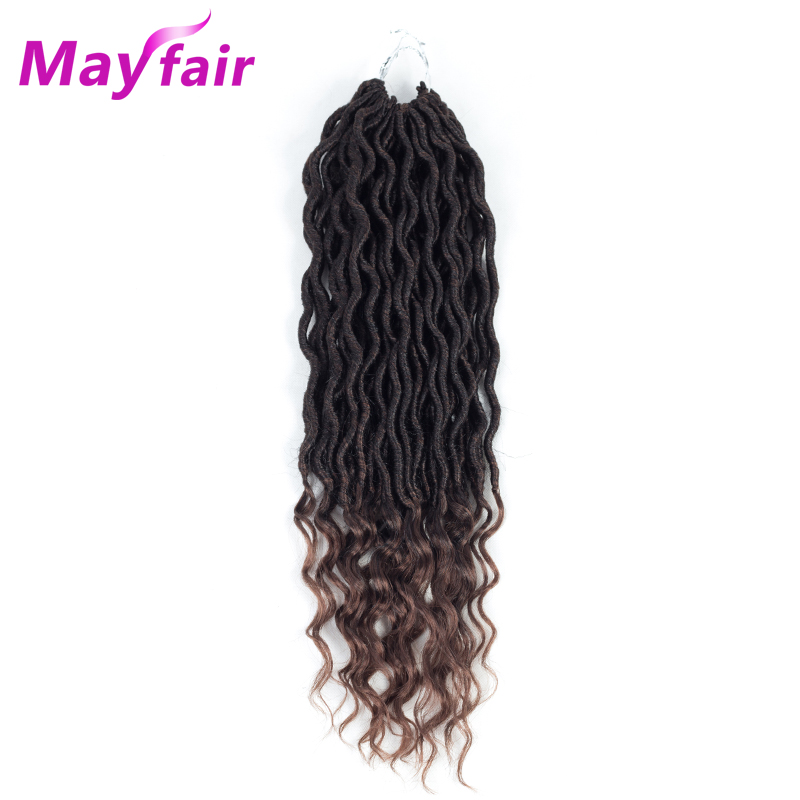 MAYFAIR Faux Locs Crochet Extensions 18