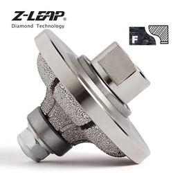 Z-LEAP Vacuümgesoldeerde F20 Diamond Router Bit Profilering Wiel Rand Slijpen Snijden Bit Voor Hand Tool Marmer Graniet Steen