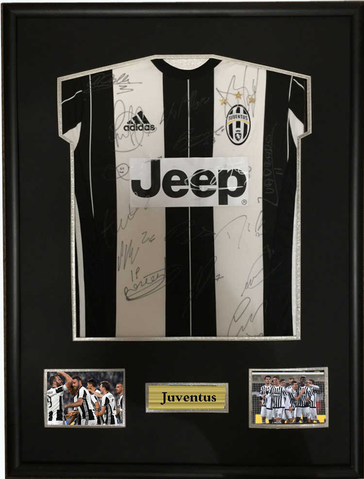 4afdf6a366f Dybala Gianluigi Buffon signed autographed soccer shirt jersey come with Sa coa  framed Juventus 16-