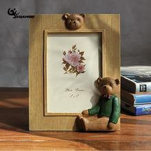 Delicieux Cartoon Lovely Beer Resin Photo Frame 6/7/8inch Picture Frame Tabletop  Photo Frames