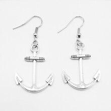 2019 Pair of Fashion Personality Ladies Earrings Mini Feather Arrow Earrings Silver Handmade Accessories pair of stylish tassels feather earrings for women