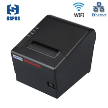 80mm wifi thermal printer with opos driver auto cutter Sound and light alarm ticket receipt printer for kitchen bill printing
