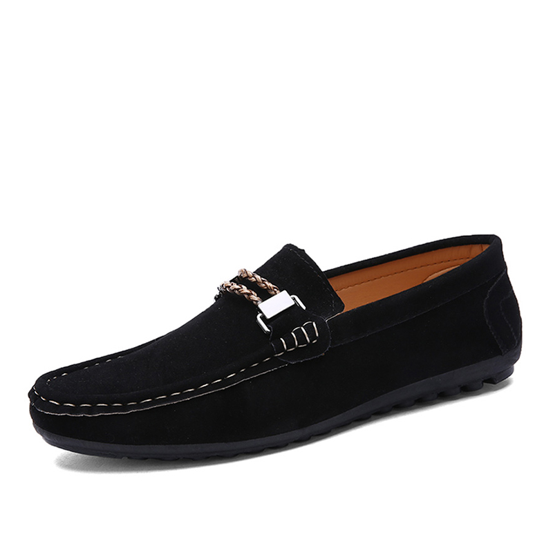 mens shoes casual loafers slip on shoes luxury brand