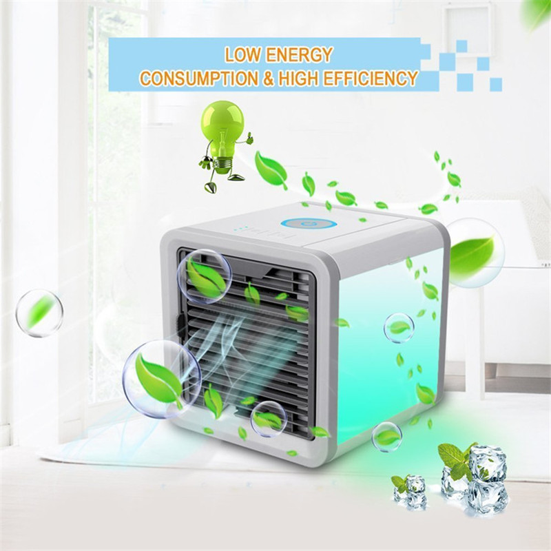 Air Cooler Fan Room Ventilator Conditioner Usb Rechargeable for Office Cooler Deak Table Electric Mini Hand Portable Personal цена