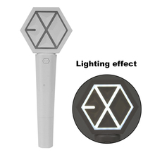 цены EXO Concert Light Stick Sehun Fans Supporting Glow Lightstick Kpop Gift Collection Action Figure Toy Events Party Supplies