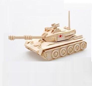 Main Battle Tanks Model  3D Wooden Puzzle Children and Adult's Educational Building Blocks Puzzle Toy