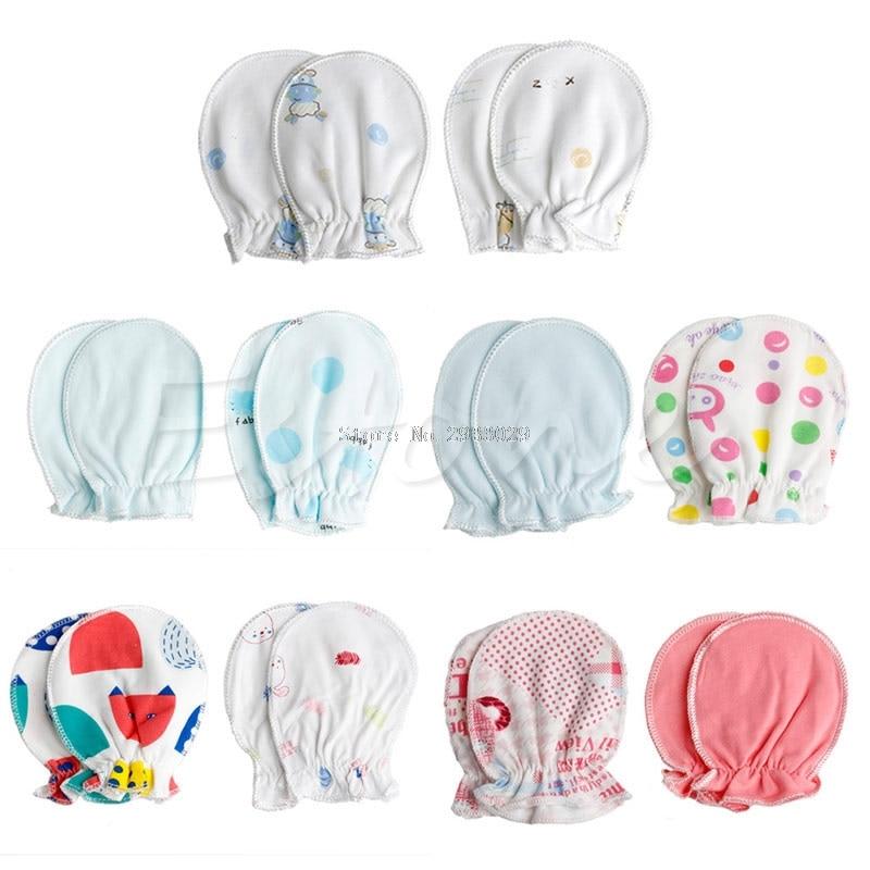 Accessories b116 Responsible 2/10pairs Newborn Baby Infant Cotton Handguard Anti Scratch Mittens Gloves New Mother & Kids