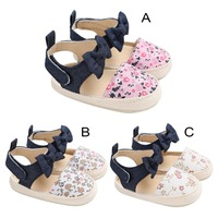 High Quality baby shoes PU Leather first walker soft soled anti slip Newborn 0 18 months baby shoes