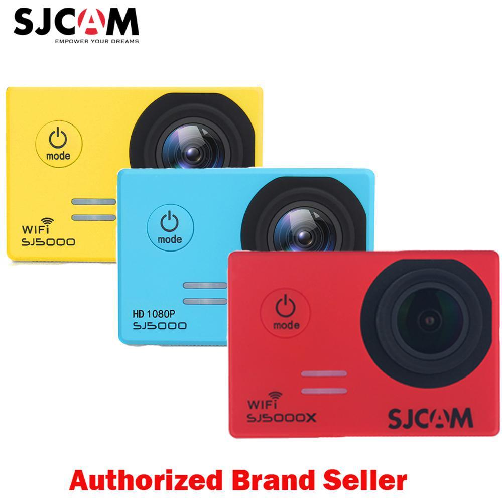 Origina lSJCAM SJ5000X Elite caméra d'action WiFi 4 K 24fps Gyro Sport DV 2.0 LCD NTK96660 Plongée 30 m caméscope étanche