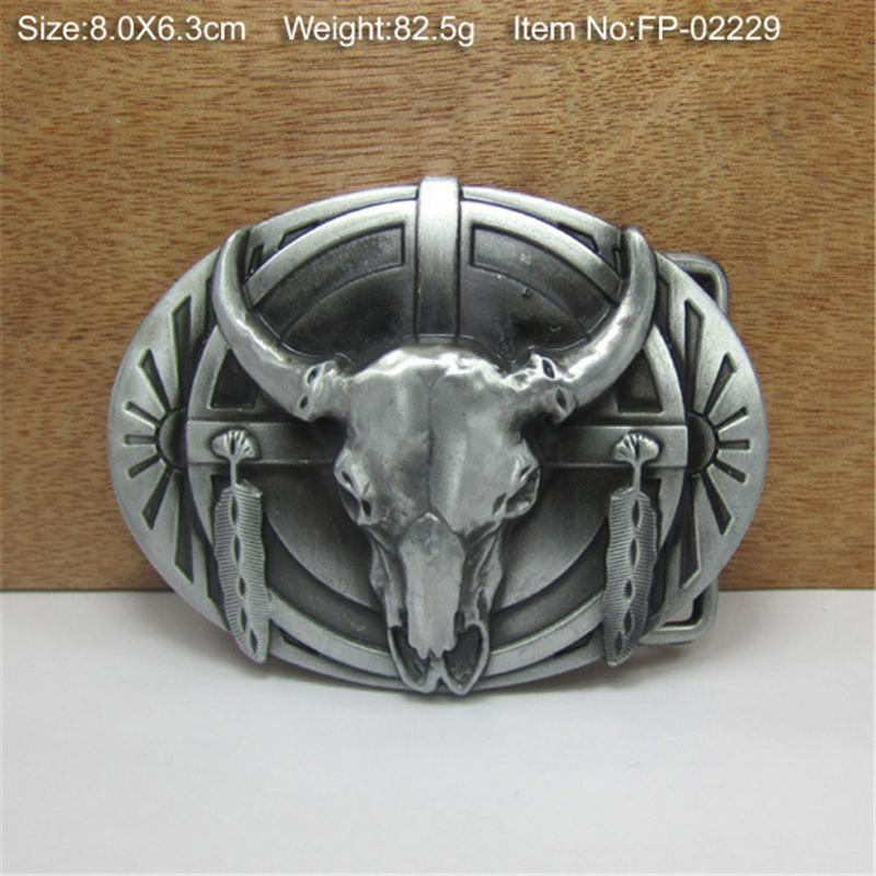 High Quality Belt Buckles For Men Belt Diy Accessories Vintage Bull Belts Buckles Metal Buckle For Jeans Cowboy Buckle AK0013