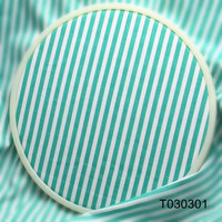 2016 Green Stripe Cotton Fabric By Meter For Clothes Baby Bibs Cloth Table Cloth Quilt Tissues