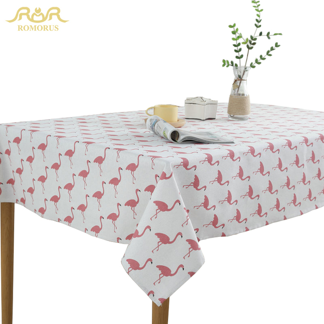 ROMORUS Hot Sale Flamingo Waterproof Tablecloths Tafelkleed Modern Kitchen Table Covers Quality Linen Party Dining Table Cloths  sc 1 st  AliExpress & ROMORUS Hot Sale Flamingo Waterproof Tablecloths Tafelkleed Modern ...