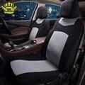 Alta Calidad Fundas de Asiento de Coche Universal Fit Car Styling lada de Poliéster cubierta de asiento de coche cubre accesorios para coche kia toyota