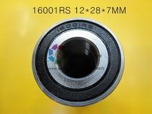 16001RS 1Piece bearing 16001RS 12*28*7 mm chrome steel deep groove bearing