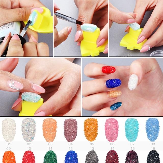 3D Nails Art Zircon Rhinestones Size 1.1mm