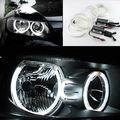 Para BMW Série 3 E90 2005-2008 faróis de Halogéneo Excelente angel eyes Ultra brilhante farol de iluminação CCFL Anjo Olhos kit