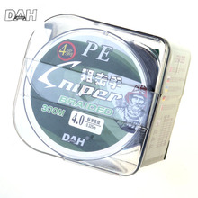 DAH Super Strong 4 strand 300M/330YDS 100% PE Braided Fishing Line 10-80LB Multifilament Fishing Line Carp Fishing Saltwater