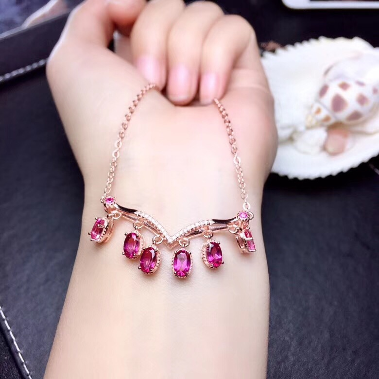 recommend clear  Pink topaz gemstone pendant for necklacerecommend clear  Pink topaz gemstone pendant for necklace
