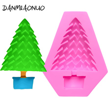 DANMIAONUO DIY Bonsai Tree Shape Cupcake Mold Decoration Cake Biscuit Baking Accessories Chocolat Soap Cutter A90816
